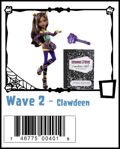 Monster High Wave Two